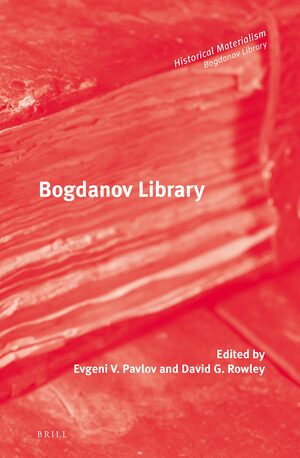Cover Bogdanov Library