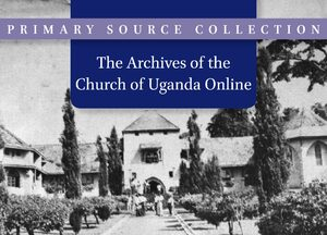 Cover Archives of the Church of Uganda Online