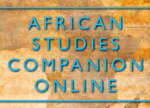 Cover African Studies Companion Online