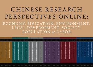 Cover Chinese Research Perspectives Online