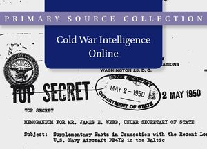 Cover Cold War Intelligence
