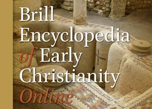 Cover Brill Encyclopedia of Early Christianity Online
