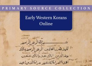 Cover Early Western Korans Online