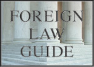 Cover Foreign Law Guide