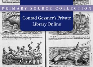 Cover Conrad Gessner's Private Library Online