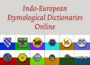 Cover Indo-European Etymological Dictionaries Online