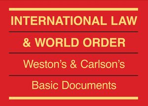 Cover International Law & World Order