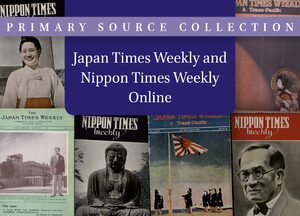 Cover Japan Times Weekly and Nippon Times Weekly Online