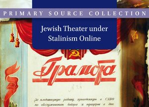 Cover Jewish Theater under Stalinism Online