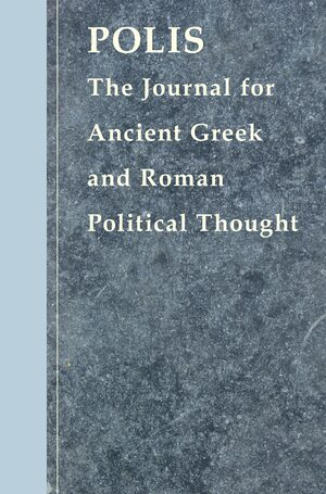 Cover Polis: The Journal for Ancient Greek and Roman Political Thought