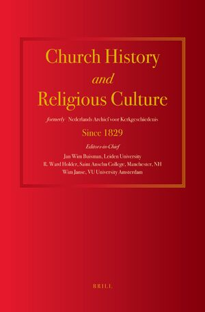 Cover Church History and Religious Culture
