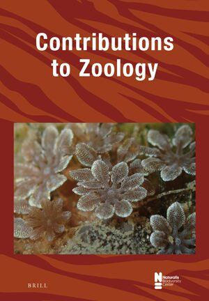 Cover Contributions to Zoology
