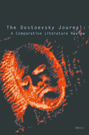 Cover The Dostoevsky Journal
