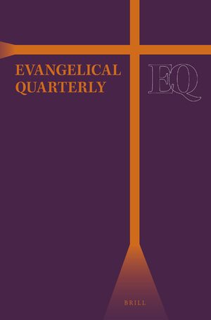 Cover Evangelical Quarterly: An International Review of Bible and Theology