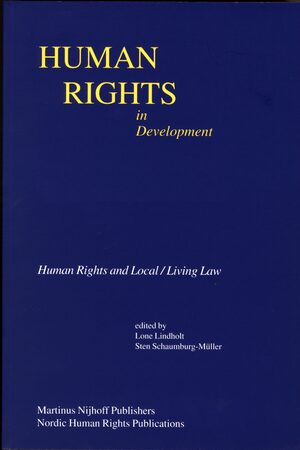 Cover Human Rights in Development Online