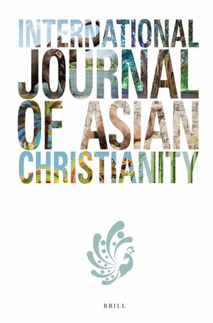 Cover International Journal of Asian Christianity