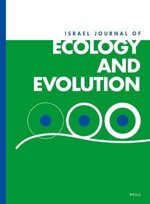Cover Israel Journal of Ecology and Evolution