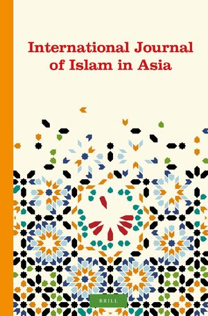 Cover International Journal of Islam in Asia