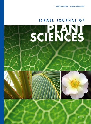Cover Israel Journal of Plant Sciences