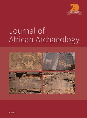 Cover Journal of African Archaeology