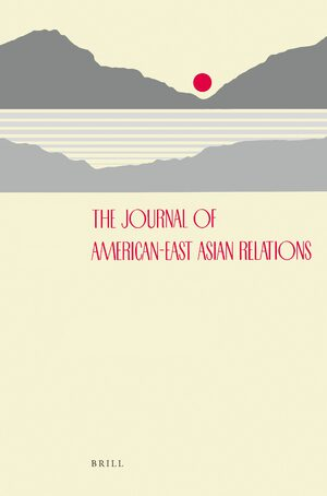 Cover Journal of American-East Asian Relations