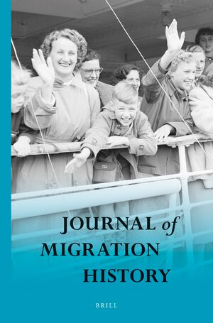 Cover Journal of Migration History
