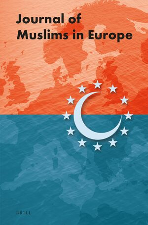 Cover Journal of Muslims in Europe