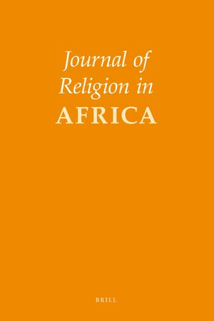Cover Journal of Religion in Africa