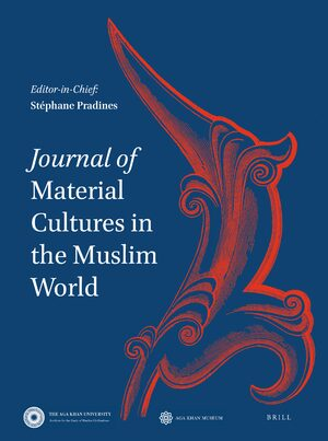 Cover Journal of Material Cultures in the Muslim World