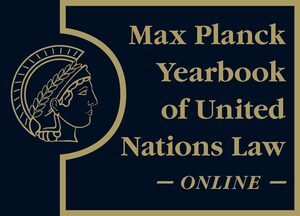 Cover Max Planck Yearbook of United Nations Law Online
