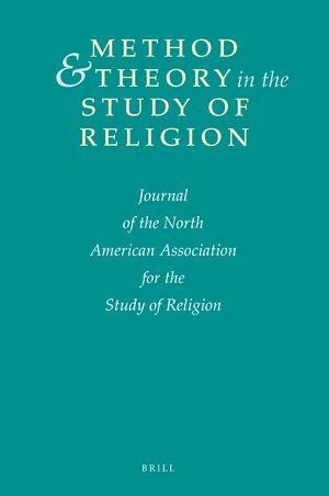 Cover Method & Theory in the Study of Religion