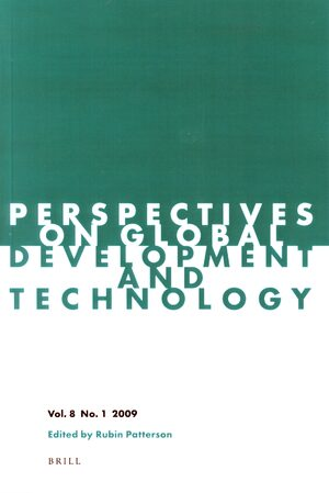 Cover Perspectives on Global Development and Technology