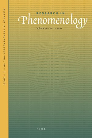 Cover Research in Phenomenology