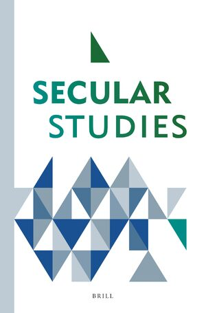 Cover Secular Studies