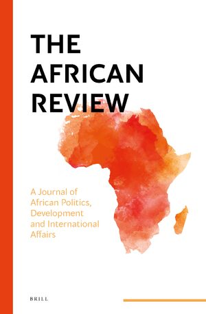 Cover The African Review