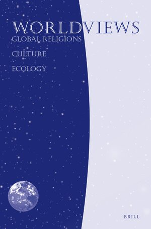 Cover Worldviews: Global Religions, Culture, and Ecology