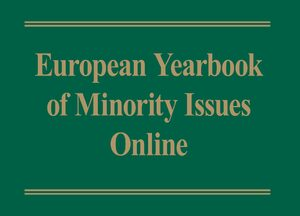 Cover European Yearbook of Minority Issues Online