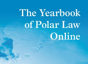 Cover The Yearbook of Polar Law Online