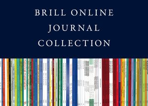 Cover 2021 Brill Online Journal Collection / 2021 Brill Journal Collection