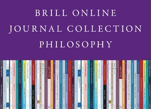 Cover 2020 Brill Online Journal Collection / 2020 Brill Philosophy Journal Collection