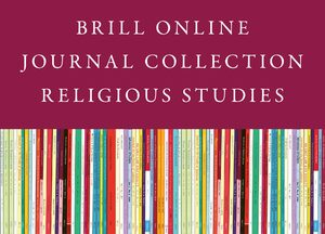 Cover 2020 Brill Online Journal Collection / 2020 Religious Studies Journal Collection