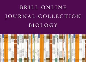 Cover 2021 Brill Online Journal Collection / 2021 Biology Journal Collection