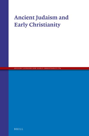 Cover Ancient Judaism and Early Christianity
