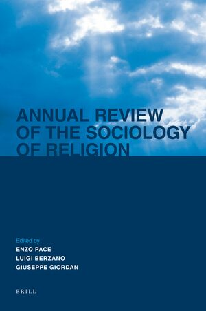 Cover Annual Review of the Sociology of Religion