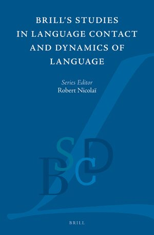 Cover Brill Studies in Language Contact and Dynamics of Language
