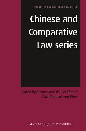 Cover Chinese and Comparative Law Series