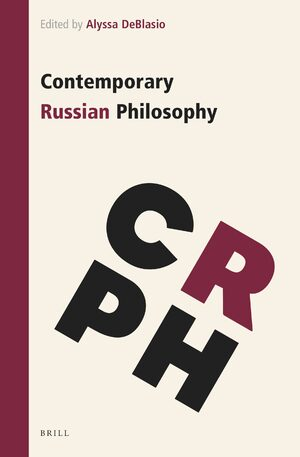 Cover Contemporary Russian Philosophy
