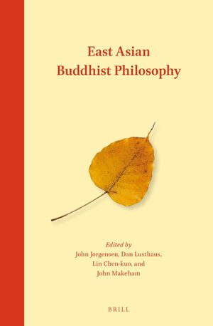 Cover East Asian Buddhist Philosophy