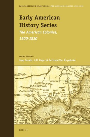 Cover Early American History Series