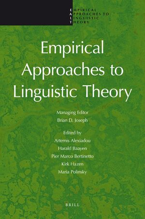 Cover Empirical Approaches to Linguistic Theory